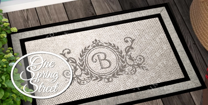Personalized Welcome Doormats