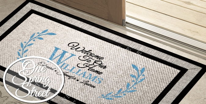 Doormat Farmhouse Welcome Mat R235