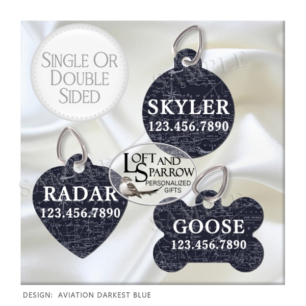 DOG Pilot Aviation ID Tags