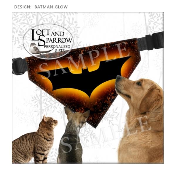 DOG Bandana Scarf Batman
