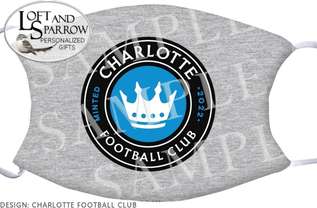 FACE MASK Charlotte Football Club