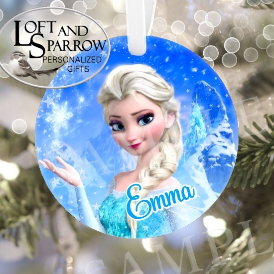 ORNAMENT FROZEN ELSA
