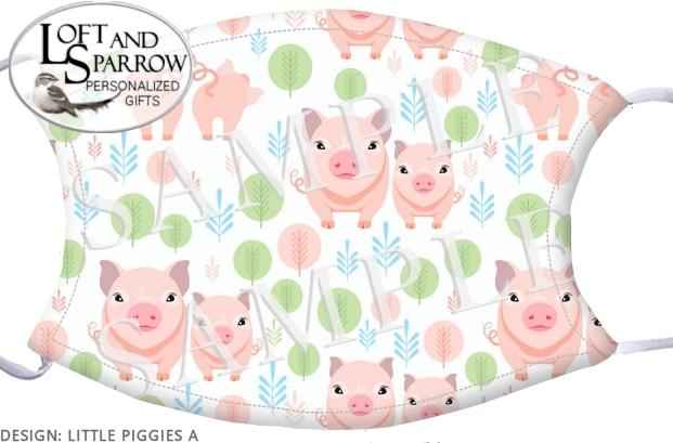 FACE MASK Little Piggies A