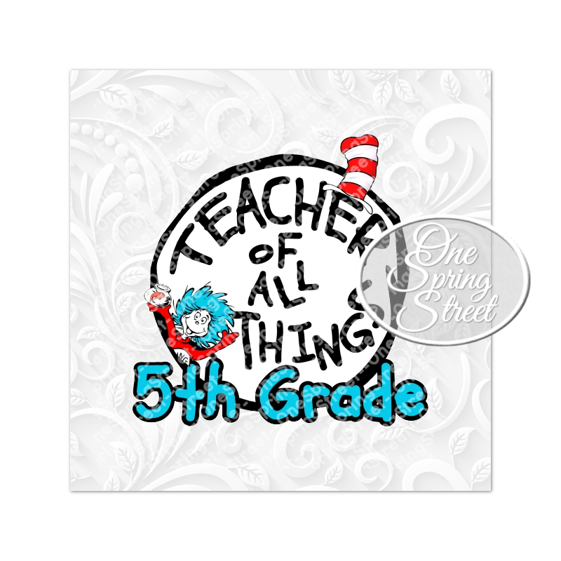 Dr. Seuss Day 5TH GRADE Teacher Of All Things