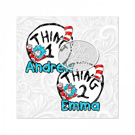 Thing 1 Thing 2 Any Number Printable Iron On Transfer Personalized-Dr. Seuss Day Printable Iron On Transfer Dr Seuss Day Teacher of all things, Dr. Seuss Day, thing 1, thing 2, Printable, Teacher gift, Elementary, Of all things,clip art, first grade, second grade, third grade, kindergarten, school, teachers appreciation, pta, Image, Clipart, Doctor Seuss Day