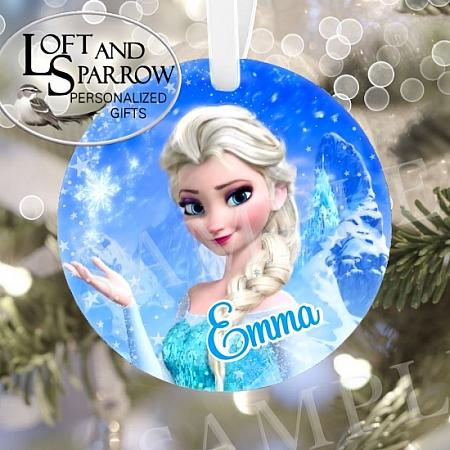 ORNAMENT FROZEN ELSA-ORNAMENT FROZEN ELSA DISNEY ORNAMENT FAMILY ORNAMENT GIRLS CHRISTMAS GIFT Loft And Sparrow custom personalized gifts, custom house portraits, pet portraits, watercolor portraits, Christmas ornaments, cruise banners, door banners, wreath add ons, key chains, magnets, pillows  so much more Custom Snowman Wearing a Face Mask 2020 Quarantine Personalized Christmas Ornament Scandinavian Gnome