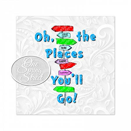Dr Seuss Day Oh the places you'll go-Teacher of all things, Dr. Seuss Day, thing 1, thing 2, Printable, Teacher gift, Elementary, Of all things,clip art, first grade, second grade, third grade, kindergarten, school, teachers appreciation, pta, Image, Clipart, Doctor Seuss Day, Nursery decor, preschool decoration, daycare, classroom, 100 day of school, teachers gift, printable dr seuss